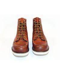 Beck & Hersey Brown Sniper Boot for men