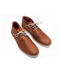 Beck & Hersey Brown Traitor Boot for men