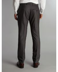 Ben Sherman Gray Tonic Camden Fit Suit Trouser for men