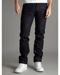 Bench Blue Tapered Jeans for men