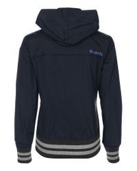 Bench Blue Campus Jacket
