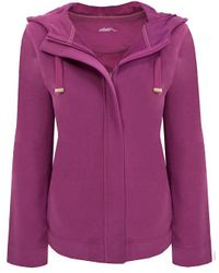 Dash Purple Hooded Jacket
