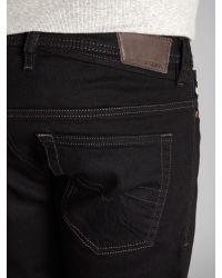DIESEL Black Shioner 886z Slim Fit Jeans for men