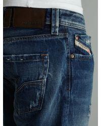 DIESEL Blue Larkee 885v Straight Fit Jeans for men