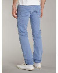 DIESEL Blue Lakop Jeans for men