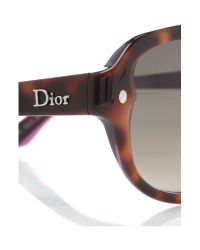 Dior Brown Ladies Diorpondichery2 Sunglasses