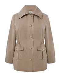 Eastex Natural Dark Beige Lightweight Coat