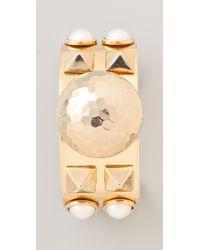 Fallon - Metallic Classique Cuff - Lyst