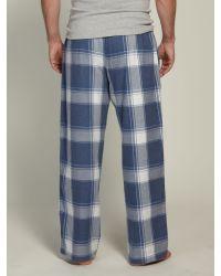 Farrell Blue Mens Shag Pant Bottoms for men