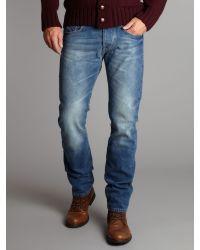 Farrell Blue Slim Fit Jeans for men