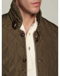Farrell Green Monty Lightweight Quilted Jacket for men