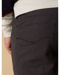Howick Gray Cotton Houndstooth 5 for men