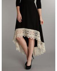Izabel London Black Mermaid Skirt
