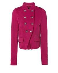 Jane Norman Purple Ponti Military Jacket