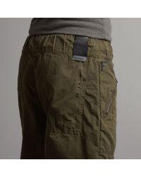 J.C. RAGS Green Woven Flight Trousers for men