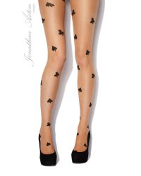 Jonathan Aston Blackjack Over Pattern Tights