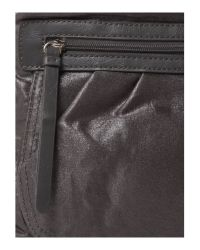 Kenneth Cole Reaction - Gray Miss Sporty Crossbody Bag - Lyst