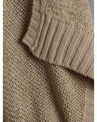 Kenneth Cole Gray Edge To Edge Knit Jumper