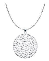 Kit Heath | Metallic Medium Silver Freeze Necklace | Lyst
