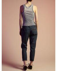 Label Lab Blue Oil Wash Chino Trouser