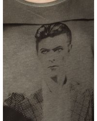 Label Lab Gray Bowie T Shirt