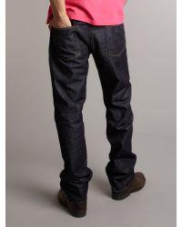 Lacoste Blue Dark Wash Jeans for men