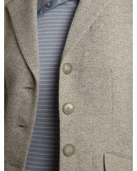 Lauren by Ralph Lauren Gray Wool Mix Tailored Jacket