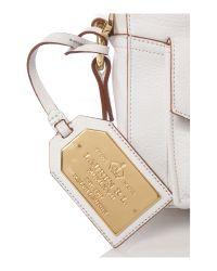 Lauren by Ralph Lauren - White Bermondsey Small Crossbody Bag - Lyst