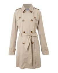 Linea Weekend Natural Trench Coat