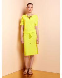 Mary Portas Yellow Lorelec Dress