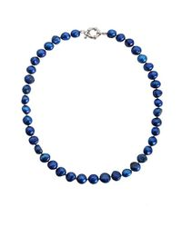 Minuet Petite | Mid Blue Fresh Water Pearl Necklace | Lyst