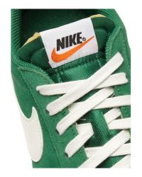 Nike | Green Low Top Blazer Vintage Suede for Men | Lyst