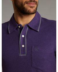 Original Penguin Purple Classic Polo for men