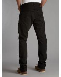 Polo Ralph Lauren Black Hudson Straight Jeans for men