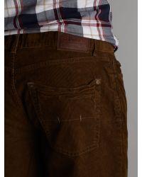Polo Ralph Lauren Brown 5 Pocket Corduroy Jean for men