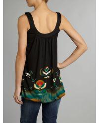 Sodamix Black Garden Print Dress