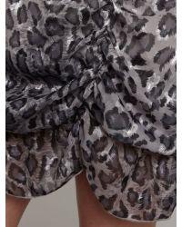 Sodamix Gray Fiery Animal Dress