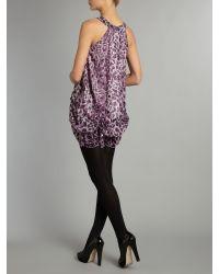 Sodamix Purple Fiery Animal Dress