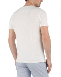 Ted Baker Natural Upandup Printed T Shirt for men