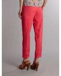 Vero Moda Very Pink Crop Trousers