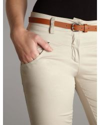 Wal-G Natural 34 Length Trousers