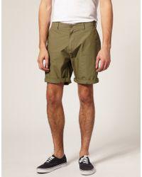 ASOS Green Asos Chino Shorts for men