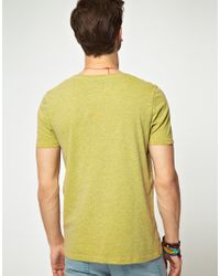 ASOS Yellow Asos Tshirt with Pocket for men