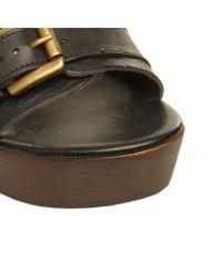 Carvela Kurt Geiger Black Kan Sandals