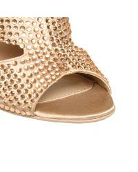 Carvela Kurt Geiger Natural Goal Sandals