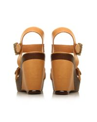 Carvela Kurt Geiger Brown Kan Sandals