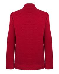 Dash Red Quilted Jacket