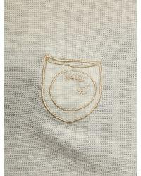 DIESEL Gray Granded Tshirt for men