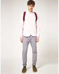 Paul Smith Pink Tailored Fit Raglan Sleeve Oxford Shirt for men