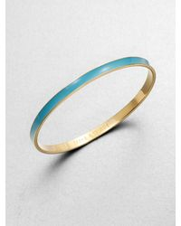 kate spade new york | Blue Make A Splash Bangle Bracelet | Lyst